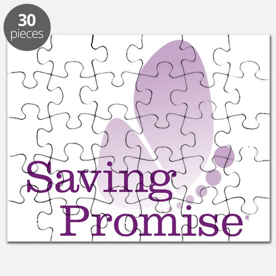 Saving Promise Butterfly on White Puzzle