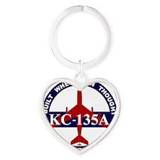 KC-135A - Built When Man Thought He Heart Keychain