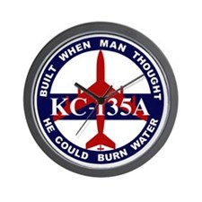 KC-135A - Built When Man Thought He Cou Wall Clock