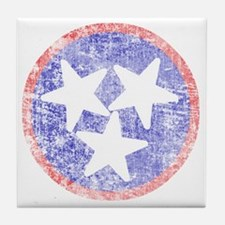 Faded Tennessee American Tile Coaster