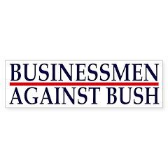 Businessmen Against Bush (sticker)