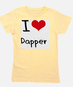 I Love Dapper Girl's Tee