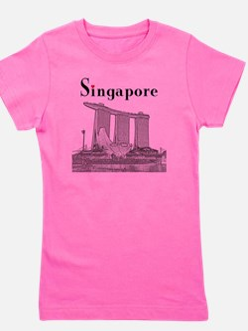 Singapore_10x10_v2_MarinaBaySandsMuseum Girl's Tee