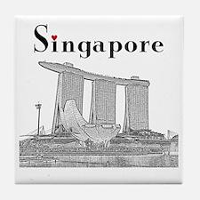 Singapore_10x10_v2_MarinaBaySandsMuse Tile Coaster