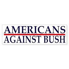 Americans Against Bush (bumper sticker)