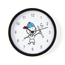 Boy & Clarinet Wall Clock