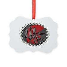 warrior logo Ornament