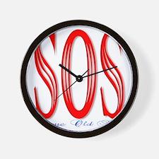S.O.S. Wall Clock