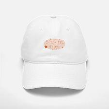 """Singing Diva"" [orange] Baseball Baseball Cap"