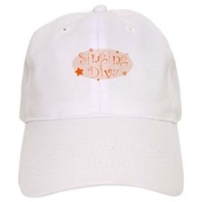 """Singing Diva"" [orange] Baseball Cap"