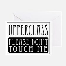Upperclass Greeting Card