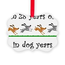 4 dog birthday 1 Ornament