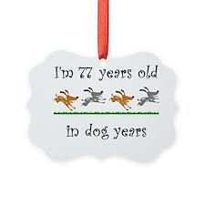 11 dog birthday 1 Ornament