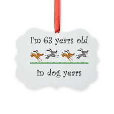 9 dog birthday 1 Ornament