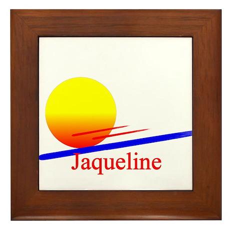 Jaqueline Framed Tile