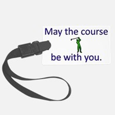 May the course be with you - GOL Luggage Tag