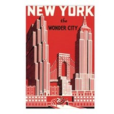 New york the wonder city  Postcards (Package of 8)