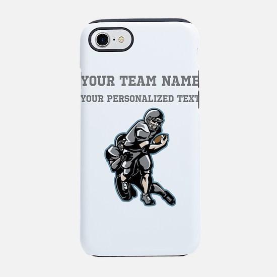 Football - Gray iPhone 7 Tough Case
