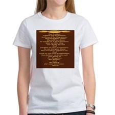 The Lords Prayer Wheat Tee