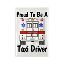 Proud To Be A Taxi Driver Rectangle Magnet