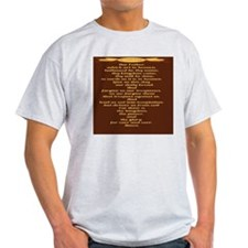 The Lords Prayer Wheat T-Shirt