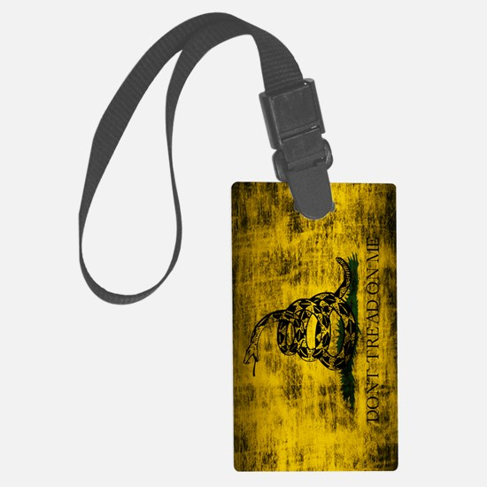Gadsden Flag Dont Tread On Me Gr Luggage Tag