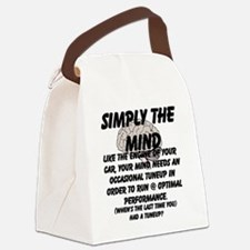 Simply The Mind Canvas Lunch Bag