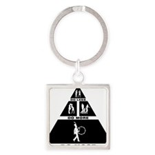 Marching-Band---Bass-Drum-11-A Square Keychain