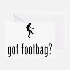 Footbag-02-A Greeting Card