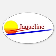 Jaqueline Oval Decal