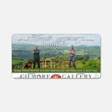 Home Grown Furniture Show Aluminum License Plate