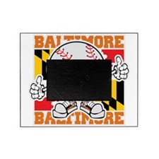 Baseball Dude Baltimore Picture Frame