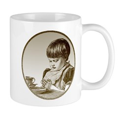 Child Saying Grace Mug