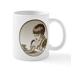Child Saying Grace Mug
