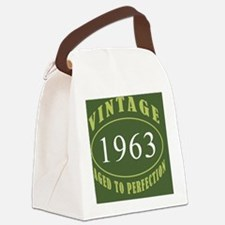 Vintage 1963 Coaster Canvas Lunch Bag
