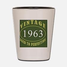 Vintage 1963 Coaster Shot Glass