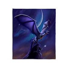 Dragon Flight Throw Blanket