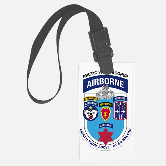 Arctic Paratrooper Luggage Tag