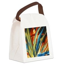 Giant Agave Painting Canvas Lunch Bag