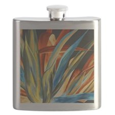 Giant Agave Painting Flask