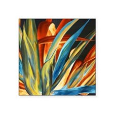 "Giant Agave Painting Square Sticker 3"" x 3"""