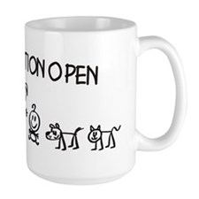Stick  Family Man Position Open Mug