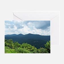 Blue Ridge Parkway near Asheville, N Greeting Card
