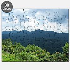 Blue Ridge Parkway near Asheville, North Ca Puzzle