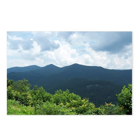 Blue Ridge Parkway near A Postcards (Package of 8)