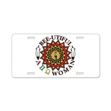 Unique Sorority Aluminum License Plate