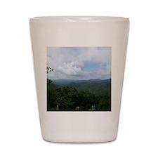 Blue Ridge Parkway - Asheville, NC Shot Glass