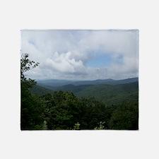 Blue Ridge Parkway - Asheville, NC Throw Blanket