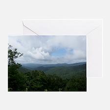 Blue Ridge Parkway - Asheville, NC Greeting Card