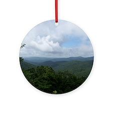 Blue Ridge Parkway - Asheville, NC Round Ornament